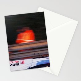 le mans marshal Stationery Cards