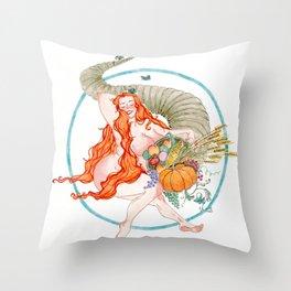 Abundantia Throw Pillow