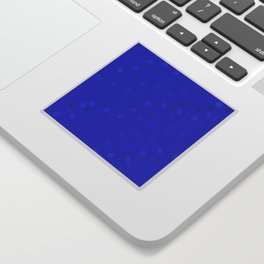 Blue puzzle Sticker
