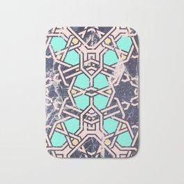 Pattern mosaic moroccan tile Bath Mat