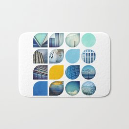 Cold Comfort Collage — The Blues Bath Mat