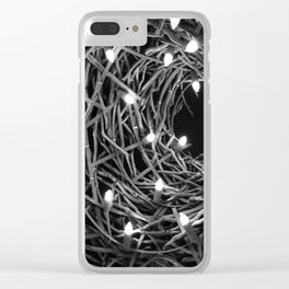 Electric Nest Clear iPhone Case