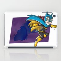 batgirl iPad Cases featuring Batgirl! by neicosta