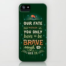 Would you change your fate? iPhone (5, 5s) Slim Case