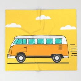 Camper Throw Blanket