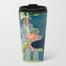 Mary Cassatt, The Boating Party, 1893 Travel Mug