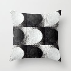 Day, Night, Day, Night, Day etc... Throw Pillow