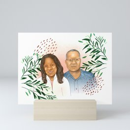 Don & Sandi Mini Art Print