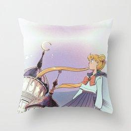 Moonlight Legend · Night Version Throw Pillow
