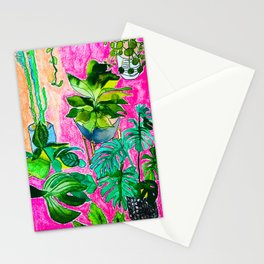 Indoor Jungle 4 Stationery Cards
