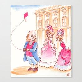 Benjamin Franklin Canvas Print