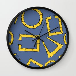 Around The Way Gurl Wall Clock