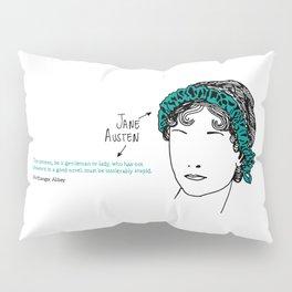 History's Women: Jane Austen Pillow Sham