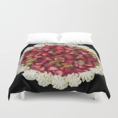 Strawberry Cheesecake  Duvet Cover