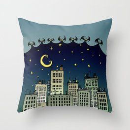 The Nightbringers Throw Pillow