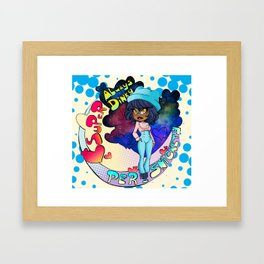 Your Persnickety Girl Framed Art Print