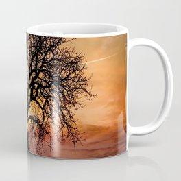 Tree by sunset Coffee Mug