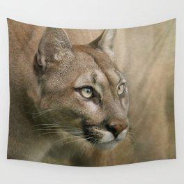 Puma profile Wall Tapestry
