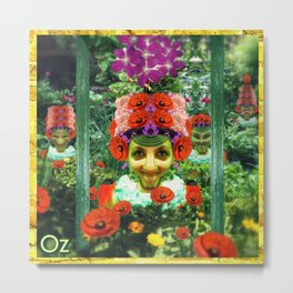 Munchkins of Oz Metal Print