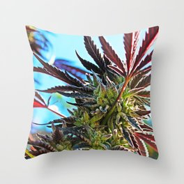 Beauty Bud Throw Pillow