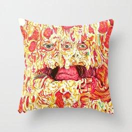 Pizza Slob Throw Pillow