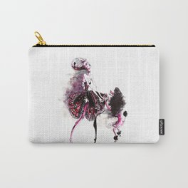 Dog and a lady Carry-All Pouch