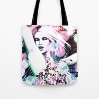 rave Tote Bags featuring Rave by Vaia