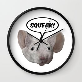 Squeak mouse Wall Clock
