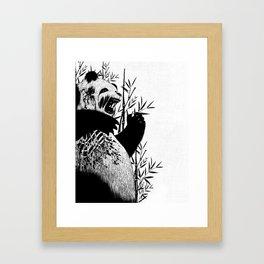 Panda Z Framed Art Print