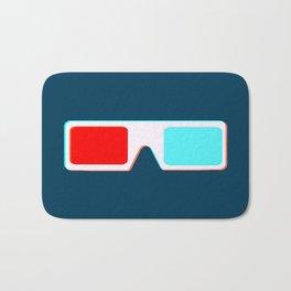 3-D Glasses Bath Mat