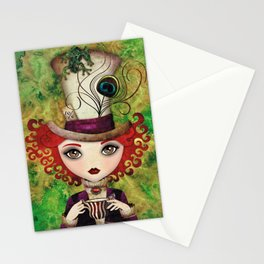 Lady Hatter Stationery Cards