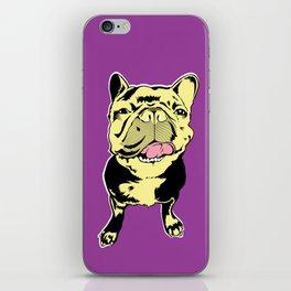 Taco the French Bulldog iPhone Skin