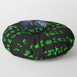 Spycraft Floor Pillow