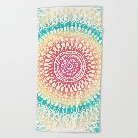 Radiate Beach Towel