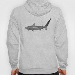 Tiger Shark, Black & White Hoody
