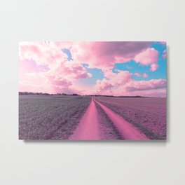 The pink way to the pink clouds Metal Print