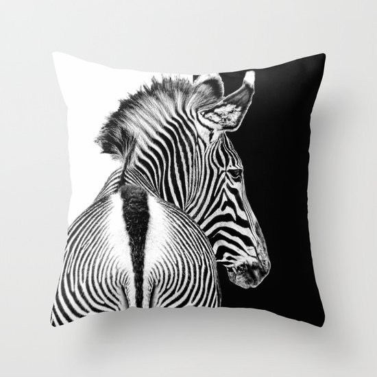 designed by nature Throw Pillow