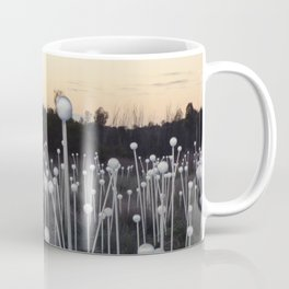 Dawn Breaks on Field of Light Coffee Mug