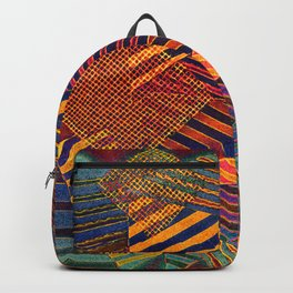 Autumn Scraps and Bits Backpack