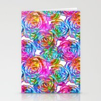 roses Stationery Cards featuring Roses by Aloke Design