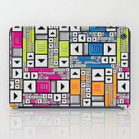 popart iPad Cases featuring ScrollBar PopArt by Roberlan Borges