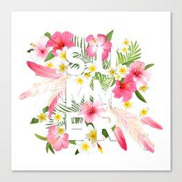 SUMMER--TROPICAL Canvas Print