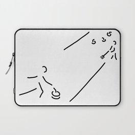 curling curling winter sports Laptop Sleeve