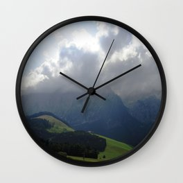 Fantastic Landscape, Austria 17 Wall Clock