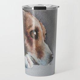 Capella the beagle Travel Mug