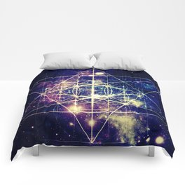 Flower of Life : Sacred GeometrY Comforters