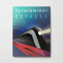 The Midnight Express Metal Print