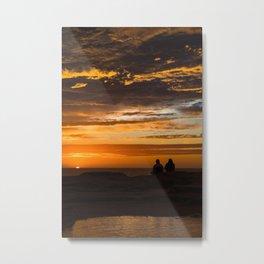 Romantic Sunrise in Australia Metal Print