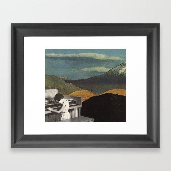 allegro Framed Art Print