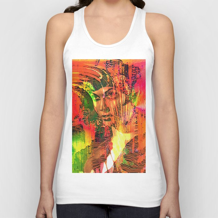 """"""" The woman belongs to the man the pleasant evil. """" Unisex Tank Top"""